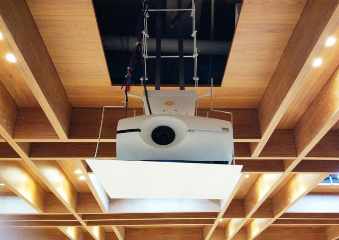 巴可投影——华美达酒店会议室项目